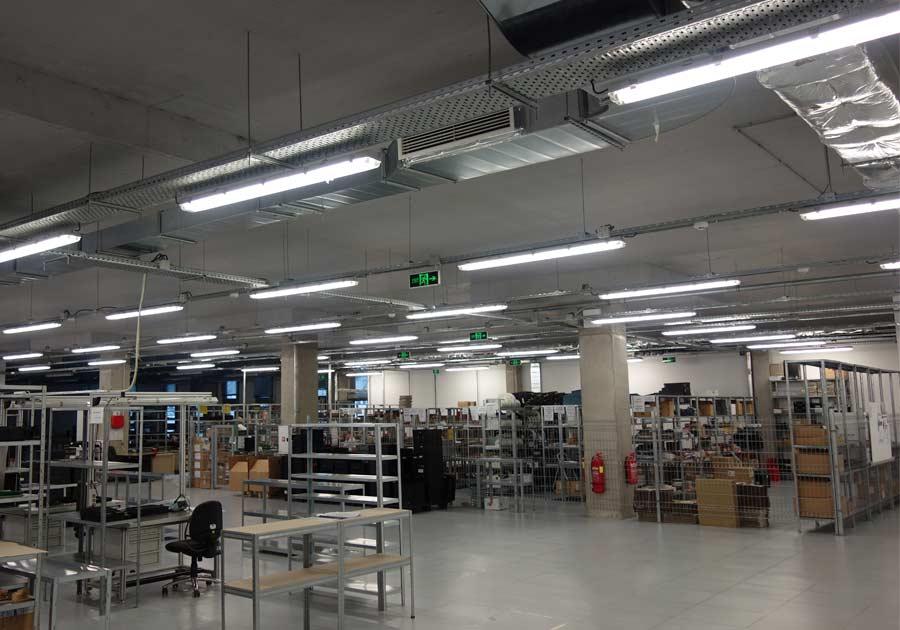 Индустриално осветление от Логолайт Инженеринг