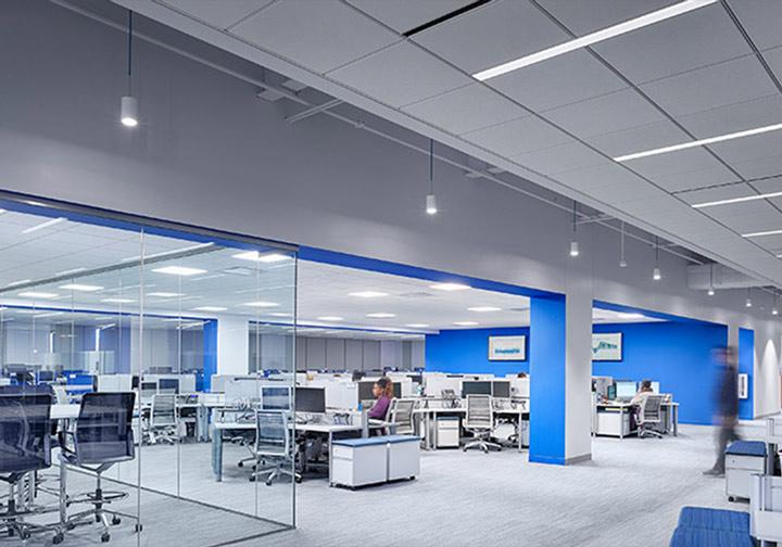 Офис, административно и хотелско осветление